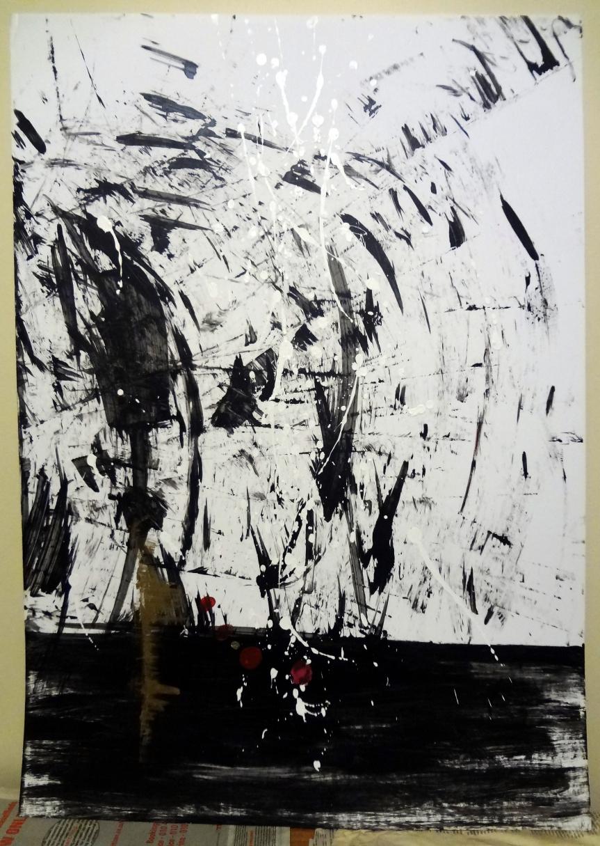 Painting 2 - Natache Sylvia Iilonga